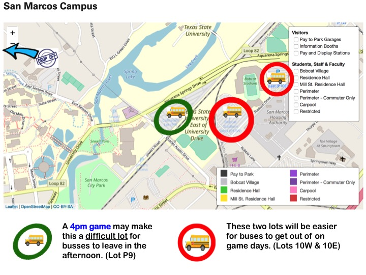 San Marcos Campus Map.Maps Texasstategermancontest Org